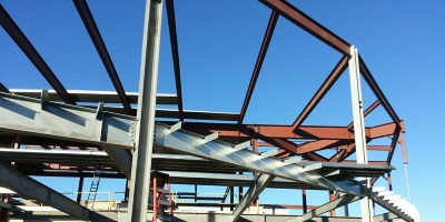 PBS Hawaii - A project by O'Brien Steel Erectors, Inc.